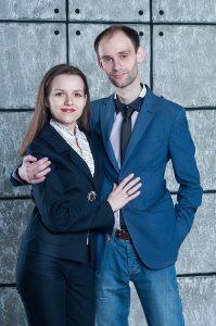 Дмитрий Корнеев и Владислава Рыкова
