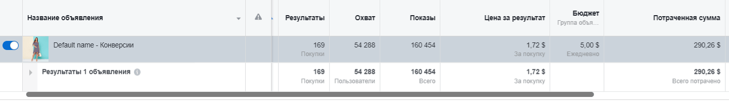 Количество покупок на сайте: 169