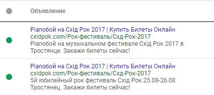 Контекстная реклама Google Ads 2
